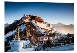 Acrylic print  Famous Potala palace in Lhasa, Tibet - Matteo Colombo