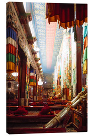 Canvas print  Interior of Samye monastery, Tibet - Matteo Colombo