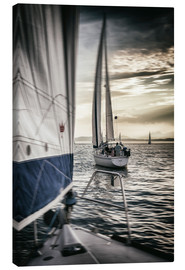 Canvas print  Sailing - Thomas Klinder