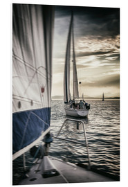 Foam board print  Sailing - Thomas Klinder