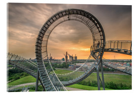 Acrylic glass  Tiger & Turtle Magic Mountain Duisburg - Dennis Stracke