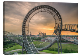 Canvas print  Tiger & Turtle Magic Mountain Duisburg - Dennis Stracke