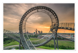Poster  Tiger & Turtle Magic Mountain Duisburg - Dennis Stracke