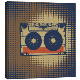 Canvas  Retro cassette