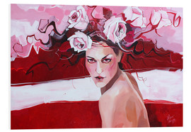 Foam board print  Who is the most beautiful - Anna Hammer