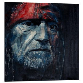 Acrylic print  Always On My Mind - Willie Nelson - Paul Lovering