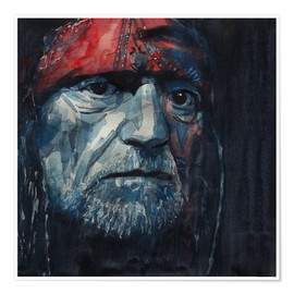 Premium poster  Always On My Mind - Willie Nelson - Paul Lovering