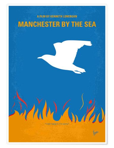 Premium poster Manchester By The Sea