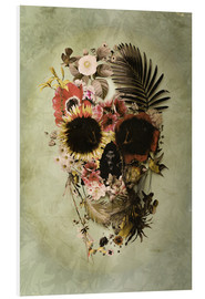 Foam board print  Garden Skull Light - Ali Gulec