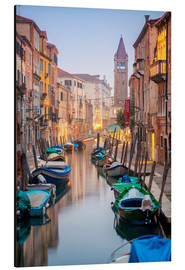 Aluminium print  Romantic Cityscape of Venice at dusk - Jan Christopher Becke