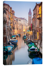 Canvas print  Romantic Cityscape of Venice at dusk - Jan Christopher Becke