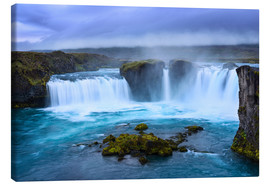 Canvas print  Godafoss - Dave Derbis