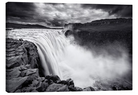Canvas  Dettifoss - Dave Derbis