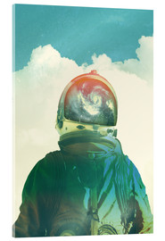 Acrylic glass  GOD IS AN ASTRONAUT - lacabezaenlasnubes