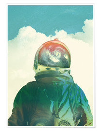 Poster  GOD IS AN ASTRONAUT - lacabezaenlasnubes