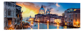 Acrylic glass  Canal Grande panorama in Venice, Italy - Jan Christopher Becke