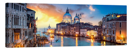 Canvas print  Canal Grande panorama in Venice, Italy - Jan Christopher Becke