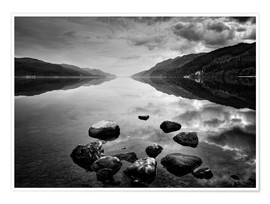 Premium poster  Loch Ness, Scotland - Martina Cross