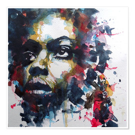 Paul Paul Lovering Arts - Nina Simone  : My Baby Just Cares For Me
