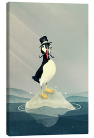 Canvas print  Lord Puffin - Romina Lutz