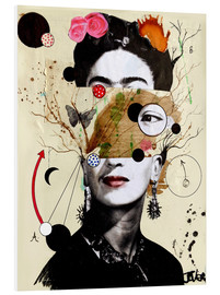 Foam board print  Deconstructed Frida - Loui Jover