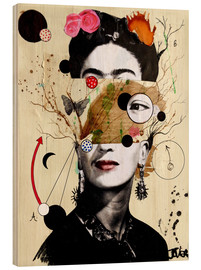 Wood  deconstructed frida - Loui Jover