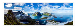Premium poster  The Lofoten