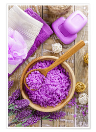 Premium poster Purple relaxation