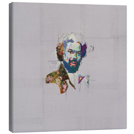 Canvas  gil scott heron - Carlos Quitério