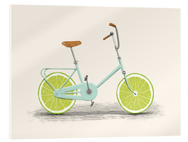 Acrylic glass  Lime Bike - Florent Bodart
