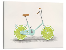 Canvas  Lime Bike - Florent Bodart