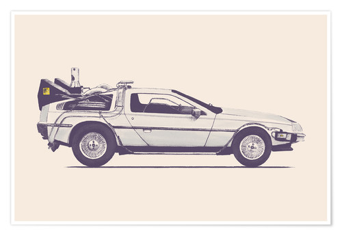 Poster Delorean