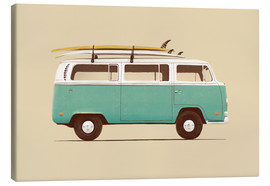 Canvas print  Blue van - Florent Bodart