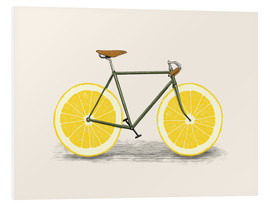 Foam board print  Lemon zest - Florent Bodart