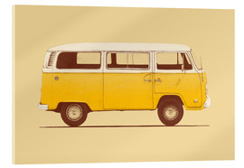 Acrylic glass  Yellow Van - Florent Bodart