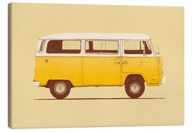 Canvas print  Yellow van - Florent Bodart