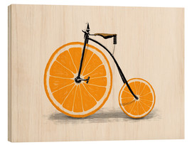 Wood print  Vitamin bike - Florent Bodart
