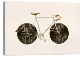 Canvas  Licorice Bike - Florent Bodart