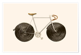 Premium poster Licorice Bike