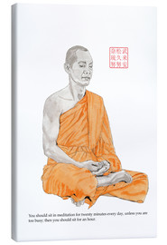 Canvas print  Buddha - meditation - Bryan James