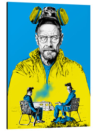 Alu-Dibond  Breaking bad - Paola Morpheus
