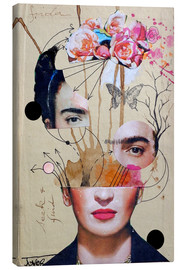 Canvas  Frida for Beginners - Loui Jover