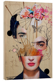 Wood  frida for beginners - Loui Jover