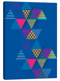 Canvas print  Geometry Graphic Art - dear dear
