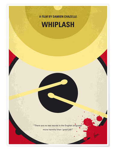 Poster No761 My Whiplash minimal movie poster