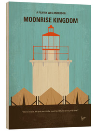 Wood print  Moonrise Kingdom - chungkong