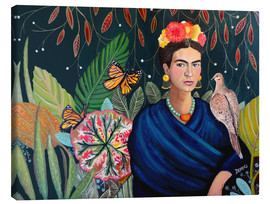 Canvas  frida - Sylvie Demers