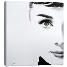 Canvas  Audrey Hepburn - Ileana Hunter