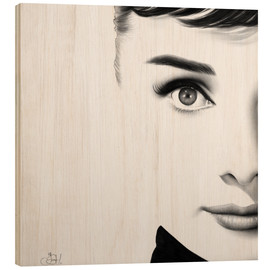 Wood  Audrey Hepburn - Ileana Hunter