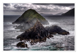 Premium poster Islands of Dingle Peninsula
